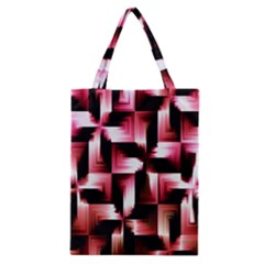 Red And Pink Abstract Background Classic Tote Bag