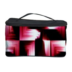 Red And Pink Abstract Background Cosmetic Storage Case