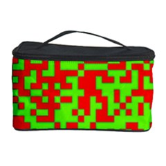 Colorful Qr Code Digital Computer Graphic Cosmetic Storage Case