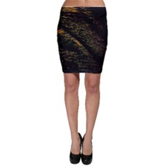 Abstract Background Bodycon Skirt