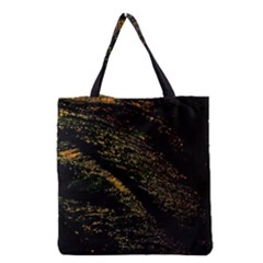 Abstract Background Grocery Tote Bag