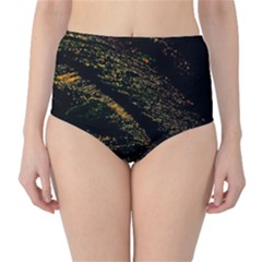 Abstract Background High Waist Bikini Bottoms