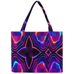 Rainbow Abstract Background Pattern Mini Tote Bag