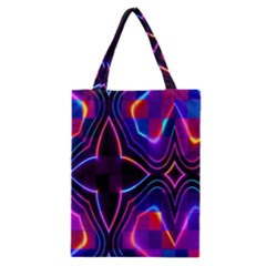 Rainbow Abstract Background Pattern Classic Tote Bag