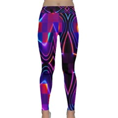Rainbow Abstract Background Pattern Classic Yoga Leggings