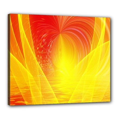 Realm Of Dreams Light Effect Abstract Background Canvas 24  x 20