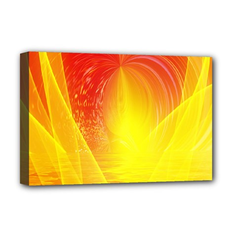 Realm Of Dreams Light Effect Abstract Background Deluxe Canvas 18  x 12