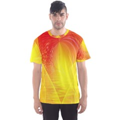 Realm Of Dreams Light Effect Abstract Background Men s Sport Mesh Tee