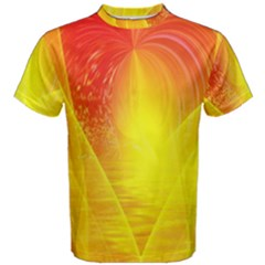 Realm Of Dreams Light Effect Abstract Background Men s Cotton Tee