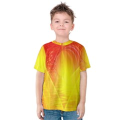 Realm Of Dreams Light Effect Abstract Background Kids  Cotton Tee