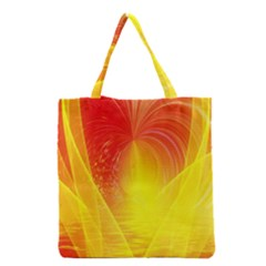Realm Of Dreams Light Effect Abstract Background Grocery Tote Bag