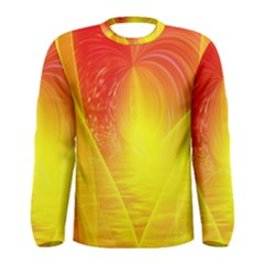 Realm Of Dreams Light Effect Abstract Background Men s Long Sleeve Tee