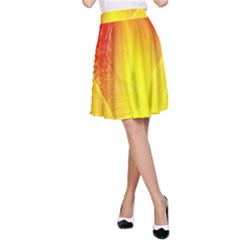 Realm Of Dreams Light Effect Abstract Background A Line Skirt