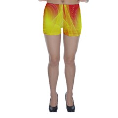 Realm Of Dreams Light Effect Abstract Background Skinny Shorts