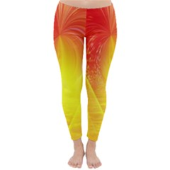 Realm Of Dreams Light Effect Abstract Background Classic Winter Leggings