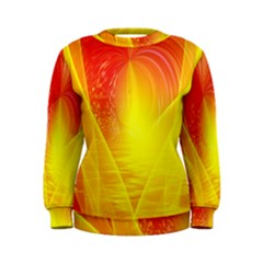 Realm Of Dreams Light Effect Abstract Background Women s Sweatshirt