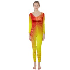 Realm Of Dreams Light Effect Abstract Background Long Sleeve Catsuit