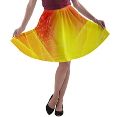 Realm Of Dreams Light Effect Abstract Background A Line Skater Skirt