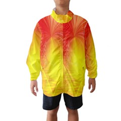 Realm Of Dreams Light Effect Abstract Background Wind Breaker (Kids)