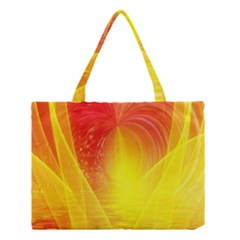 Realm Of Dreams Light Effect Abstract Background Medium Tote Bag