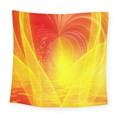 Realm Of Dreams Light Effect Abstract Background Square Tapestry (large)