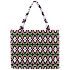 Abstract Pinocchio Journey Nose Booger Pattern Mini Tote Bag