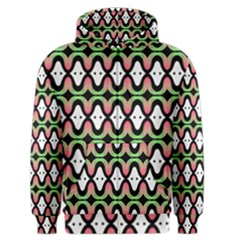 Abstract Pinocchio Journey Nose Booger Pattern Men s Zipper Hoodie
