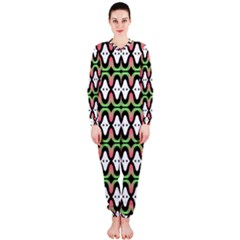 Abstract Pinocchio Journey Nose Booger Pattern OnePiece Jumpsuit (Ladies)