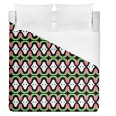 Abstract Pinocchio Journey Nose Booger Pattern Duvet Cover (queen Size)