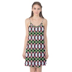 Abstract Pinocchio Journey Nose Booger Pattern Camis Nightgown