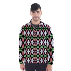 Abstract Pinocchio Journey Nose Booger Pattern Wind Breaker (men)