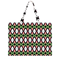 Abstract Pinocchio Journey Nose Booger Pattern Large Tote Bag