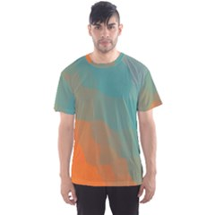 Abstract Elegant Background Pattern Men s Sport Mesh Tee