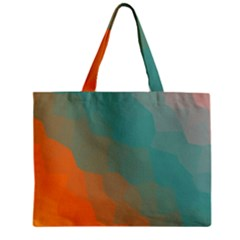 Abstract Elegant Background Pattern Zipper Mini Tote Bag