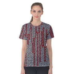 Abstract Geometry Machinery Wire Women s Cotton Tee