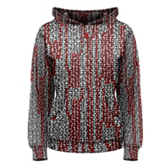 Abstract Geometry Machinery Wire Women s Pullover Hoodie