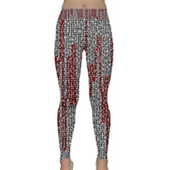 Abstract Geometry Machinery Wire Classic Yoga Leggings
