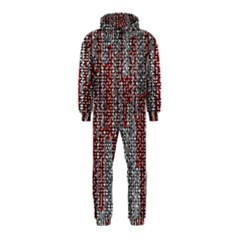 Abstract Geometry Machinery Wire Hooded Jumpsuit (kids)