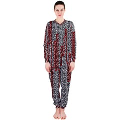 Abstract Geometry Machinery Wire Onepiece Jumpsuit (ladies)