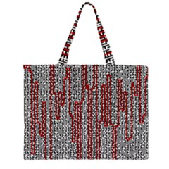 Abstract Geometry Machinery Wire Large Tote Bag