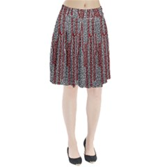 Abstract Geometry Machinery Wire Pleated Skirt