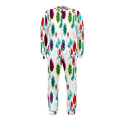 Lindas Flores Colorful Flower Pattern OnePiece Jumpsuit (Kids)