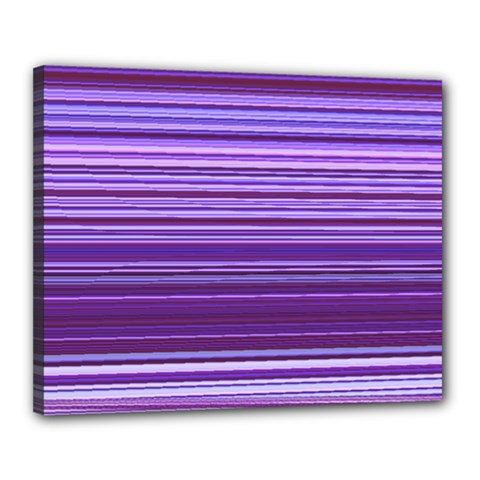 Stripe Colorful Background Canvas 20  X 16