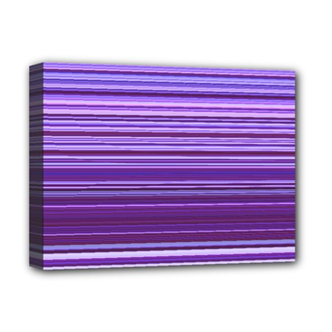 Stripe Colorful Background Deluxe Canvas 16  x 12