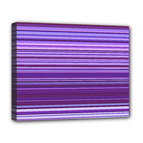 Stripe Colorful Background Deluxe Canvas 20  x 16