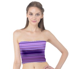 Stripe Colorful Background Tube Top
