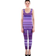 Stripe Colorful Background OnePiece Catsuit