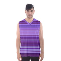 Stripe Colorful Background Men s Basketball Tank Top