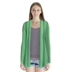 Green Herringbone Pattern Background Wallpaper Cardigans