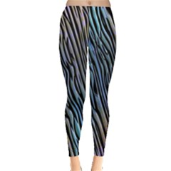 Abstract Background Wallpaper Leggings